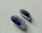 Reserved for GLORIA 2 purple long sea glass multi - Flawless English beach find pieces
