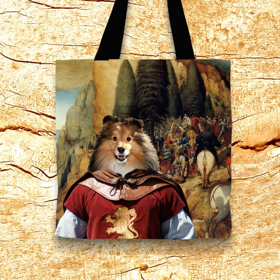 Shetland Sheepdog Art Tote Bag NEW Collection by Nobility Dogs