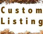 Custom Listing for  Melissa Deitzer Clinger