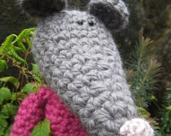 Crochet Pattern for Midge the Mouse