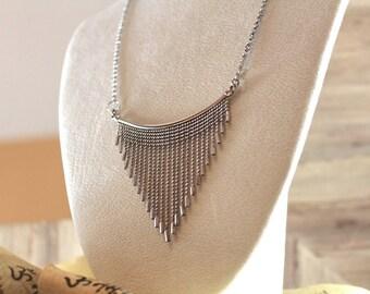 Silver Goddess Necklace