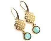 Ohrhänger,Ohrringe,earrings,wedding earrings,pacific opal
