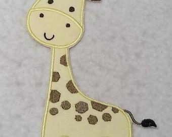 Giraffe (large) Tutu & Shirt Supplies - fabric iron on Applique Patch 7860