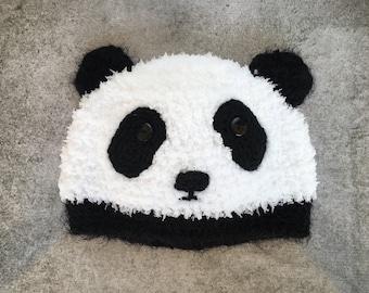 Adult Panda Beanie