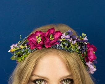 Meadow Crown in Briar Rose