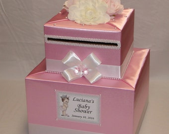 Baby Shower Card Box-any colors