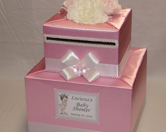 baby shower card box  etsy, Baby shower invitation
