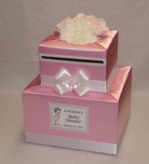 baby shower card box any colors