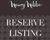 Reserve listing for Janice