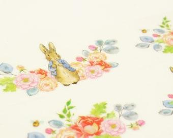Peter Rabbit - Japanese Washi Masking Tape - 30mm wide - 7.6 Yard