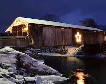 Holiday Covered Bridge