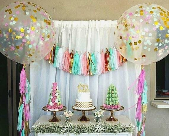Confetti Balloons Birthday Balloons Balloon Bouquet Kit