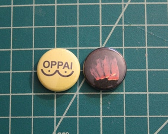 One Punch Man Pinback Buttons