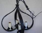 antique wrought iron chandelier hand made chandelier lighting chandelier hanging light