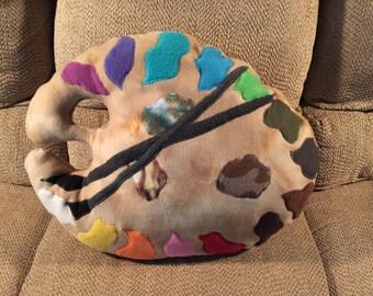 Artist Palette Dog Bed