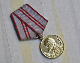 """Vintage 1978 original Soviet Russian medal """"40 years of the armed forces of the USSR"""""""