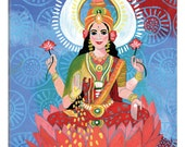 iCanvas Lakshmi Gallery Wrapped Canvas Art Print by Jessica Swift