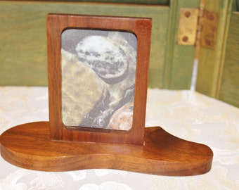 Small Walnut Wood Frame
