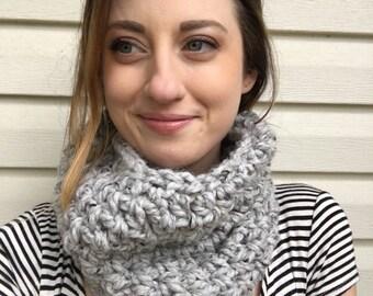 Crochet Cowl Infinity Scarf Handmade
