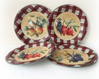 Lenox Winter Greetings Tartan Everyday Dinner Plates