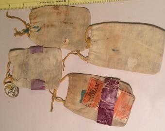Vintage tobacco bags