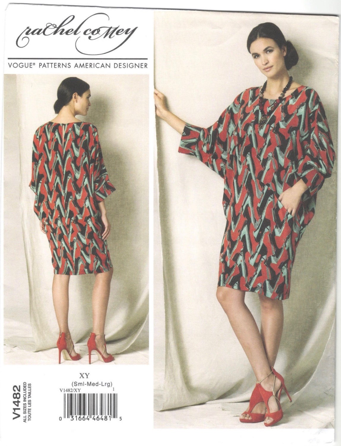Rachel Comey Wades dress pattern Vogue 1482