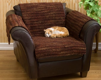 Pooch Protector Chair Cover - Crochet Pattern