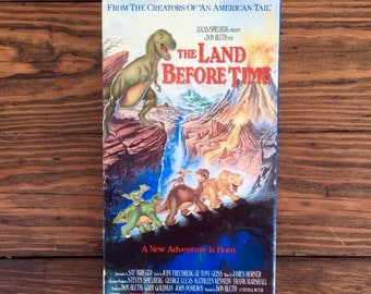 The Land Before Time 1988 Vintage VHS