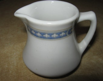Vintage Mitchell Woodbury Boston Tiny Individual Creamer Kenmore Pattern