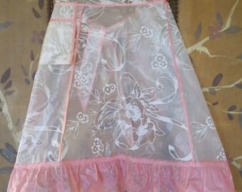 50s vinyl plastic apron