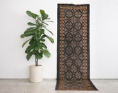 3x9 Hand Knotted Taymani Wool Runner Rug