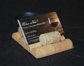 Wine Cork Buisness Card Holder