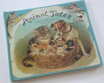 80s Animal Tales by Ernest Nister Vintage Children's Pop Up Book