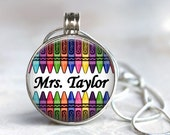 ArtClix Magnetic Interchangeable Pendant with Life Charm - Snaps In and Out - Interchangeable - teacher gifts