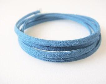Suede Wrap Bracelet **Turquoise**