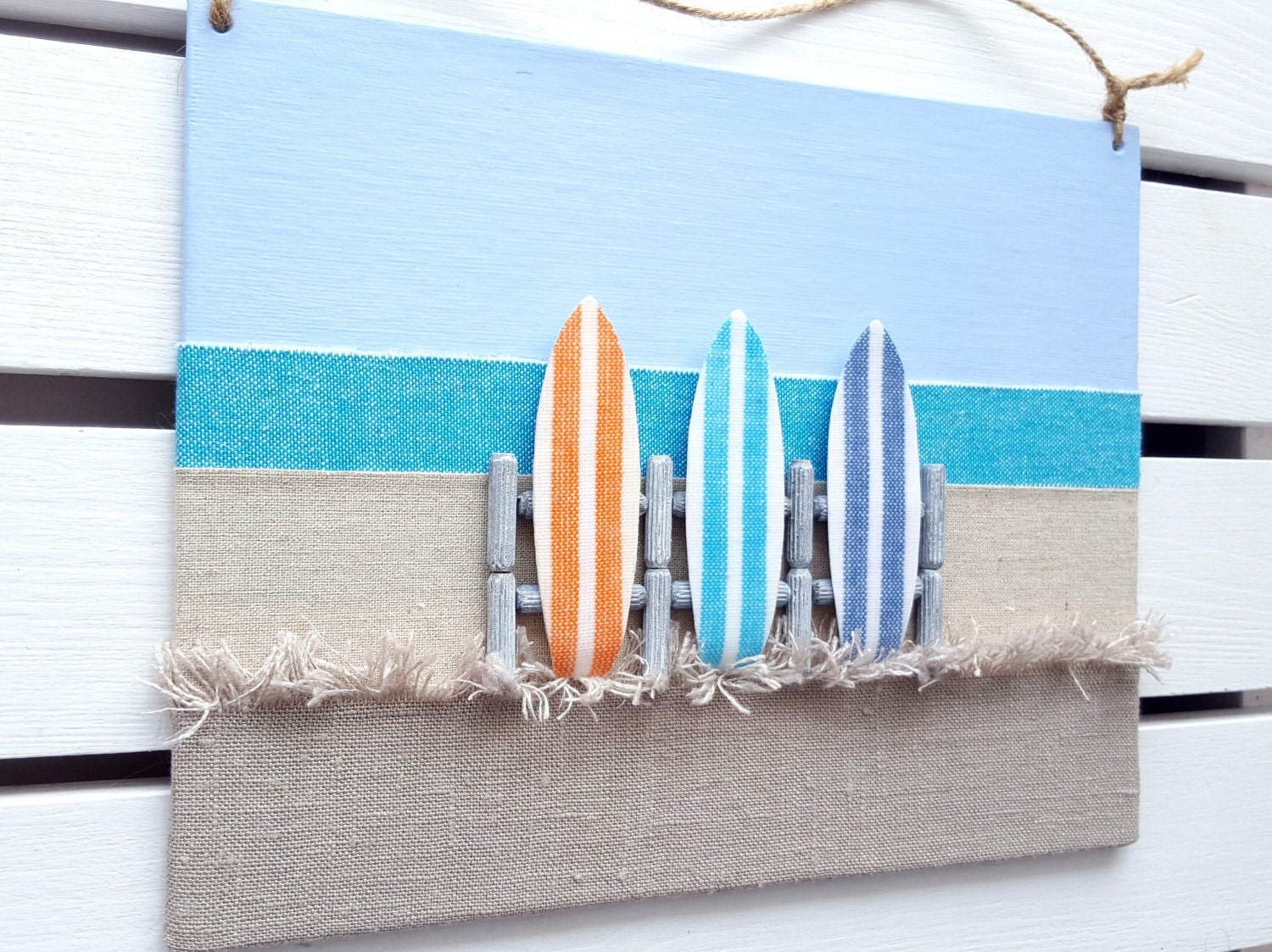 Surf art surfboard decor 3d surf board wall decor surfer for Surf decoration