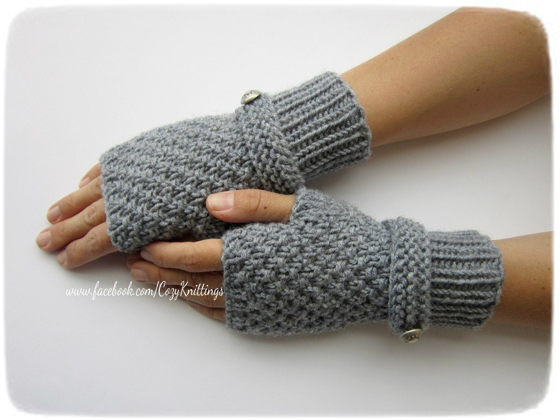 Knit Arm Warmer Pattern : knitting pattern PDF pattern arm warmers wrist warmers gloves