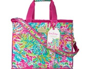 Monogrammed Lilly Pulitzer Spot Ya Insulated Cooler/ Personalized Lilly Pulitzer insulated cooler / Spot Ya Cooler / Preppy Cooler