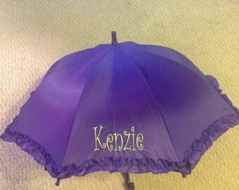 Precious Parasol Personalized for Li'l Girls