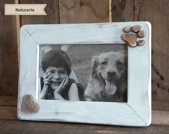 "Picture frame ""Paw and Heart"""