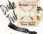 Will You be in My Bride Tribe Proposal gift for Bridesmaid maid of Honor party favor bag Tote bag cotton muslin gift bag wedding survival