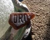 Vintage CLOROX Bottle becomes beach sea glass J-26-1