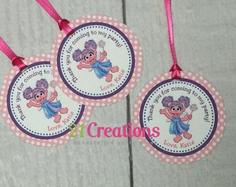 Abby Cadabby Favor Tags