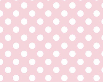 Pink Changing Pad Cover - Dots