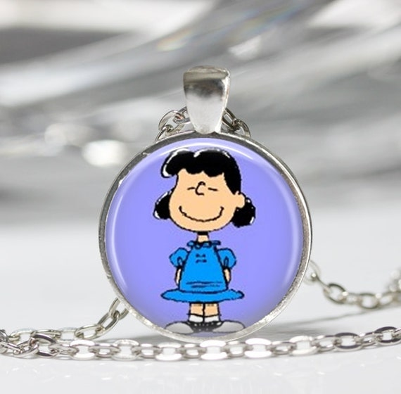 necklace the peanuts jewelry brown character