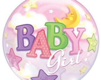 It's a Boy/ It's a Girl bubble balloon 22 Inch in diameter for Baby Shower