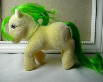 Reserved for cameverve 80's MLP So Soft pony '' Magic Star '' 85-86