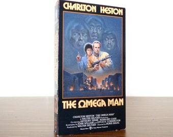 1991 The Omega Man Charlton Heston VHS Movie Warner Bros. Release