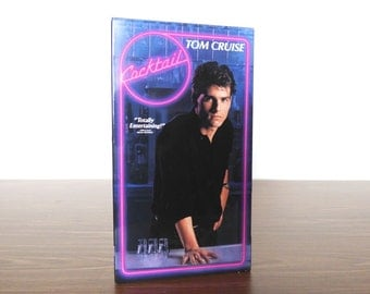 1990s Cocktail VHS Tom Cruise Video Movie Tape