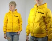 70s Down REI Puffer Goose Down Hooded Mountain Winter Jacket